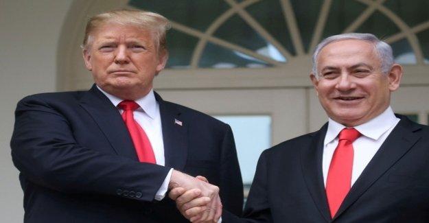 Blind Trump leads Netanyahu Gas: newspaper says sorry