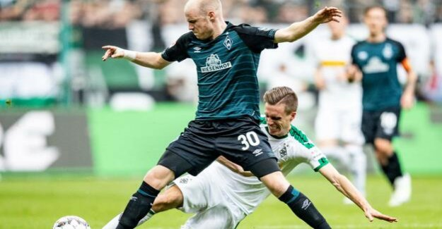 Borussia Mönchengladbach are without a win : 1:1 - Werder Bremen compensates for late
