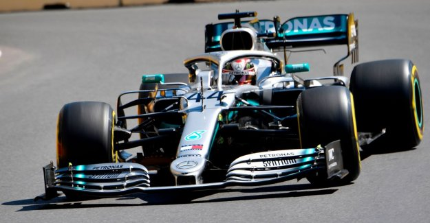 Bottas will drive to the pole in Baku, Hamilton will start next to him on the first row