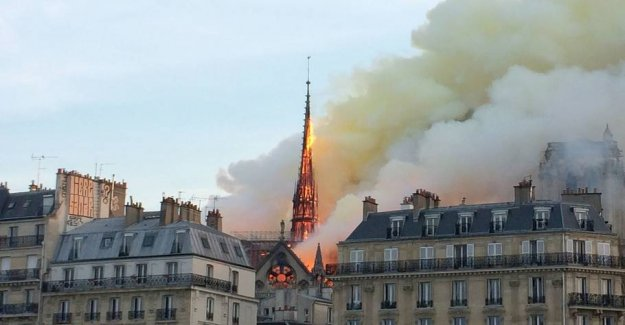 Breathe a sigh of relief: the Iconic organ escaped the flames