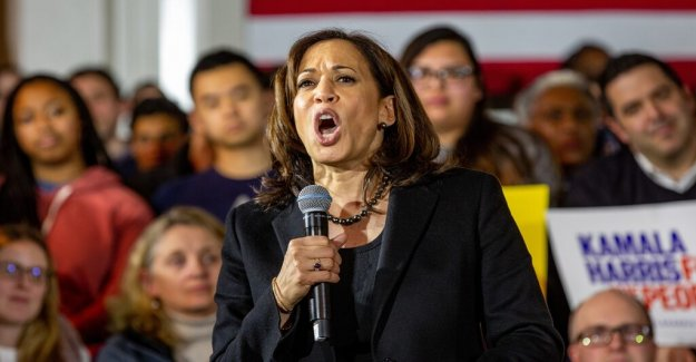 Candidate Kamala Harris wants to restore law and order