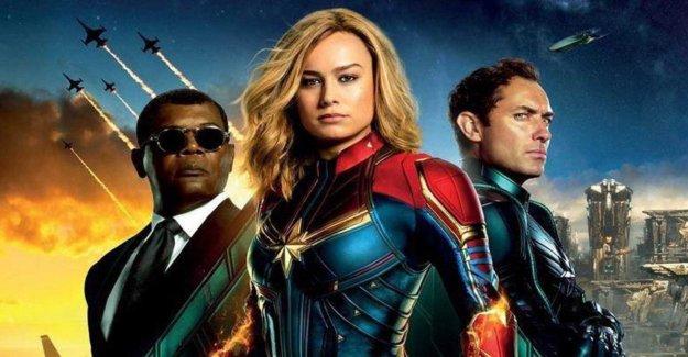 Captain Marvel – the new superhjältefilmen Premiere march 6