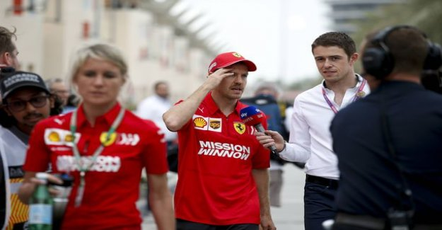 Car blamed Sebastian Vettel received a harsh judgment Nico rosberg evening – the German is falling behind team-mate's feet: That's no way to win the world championships