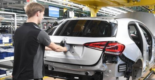 Car production by the end of 2018 declined sharply