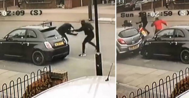 Car thieves stack Ryan down: Then came a stranger to the rescue