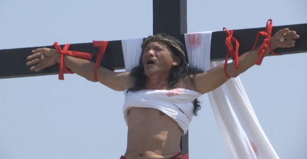 Celebrate easter: Man crucified 33 times