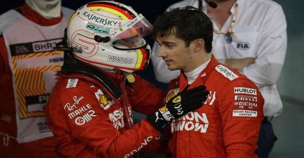 Charles Leclerc is the garage in order to listen to news - press hotel in Bahrain bluntly Sebastian vettel in the past