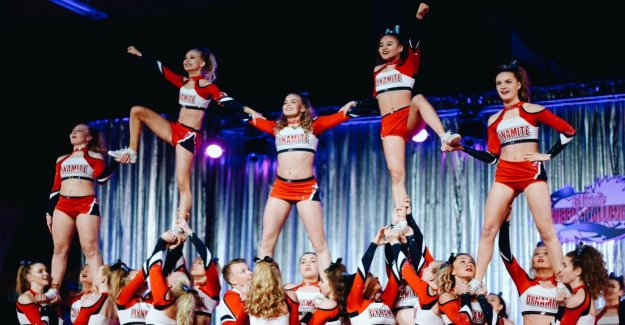 Cheerleading competition in Solna – over 1,500 are expected to set up