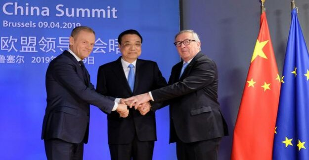 China and the EU : Despite their differences, unite against the U.S.-wrecking ball