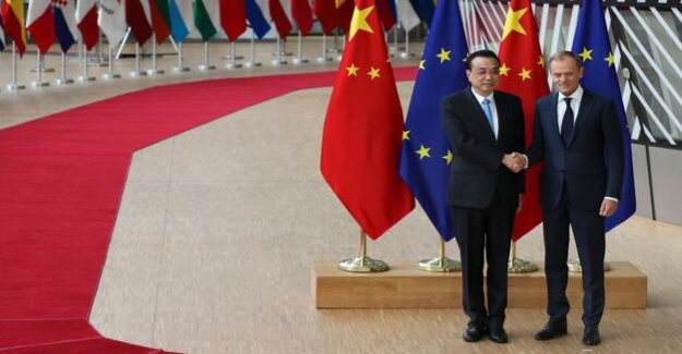 China and the EU unite : unite against the U.S.-wrecking ball
