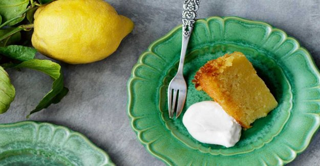 Citronkaka – tangy, sweet and juicy