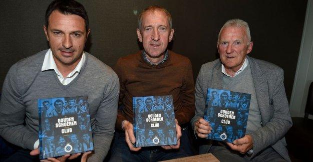 Club-stars set Golden Shoe-book for