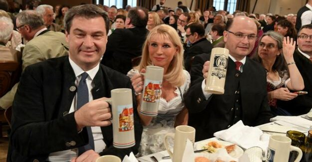 Coalition of noise to property tax : Bavarian special requests to split the Cabinet