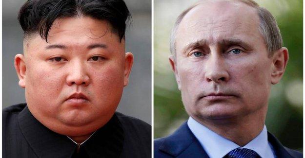 Confirmed: Putin and Kim Jong-un meet