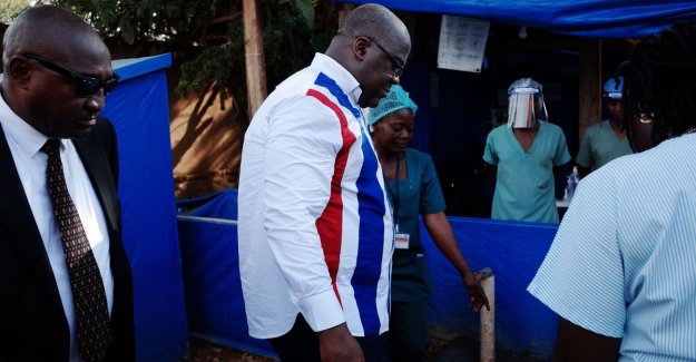 Congolese president assures the skeptical people: Ebola is real