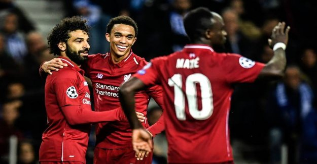 Convincing Liverpool to play in CL semi-final
