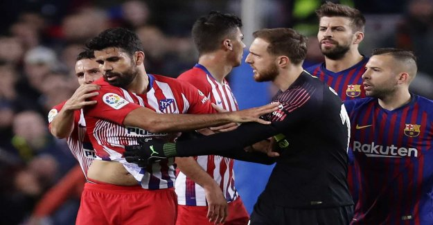 Costa in conflict with Atlético – can leave