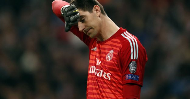 Courtois first choice at Real? Zidane promises the next season of clarity in Metro keepersdebat