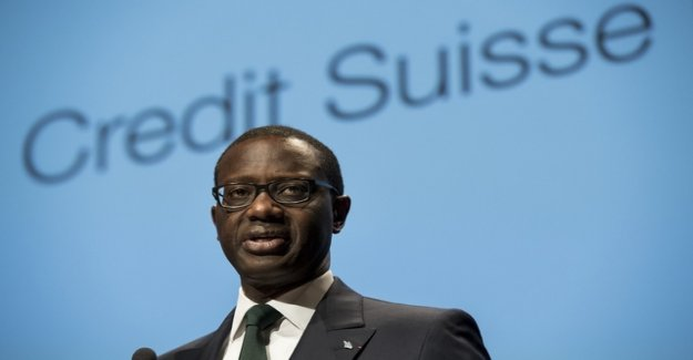 Credit Suisse increases profit in the first quarter significantly