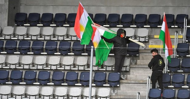 Dalkurd are playing before empty bleachers