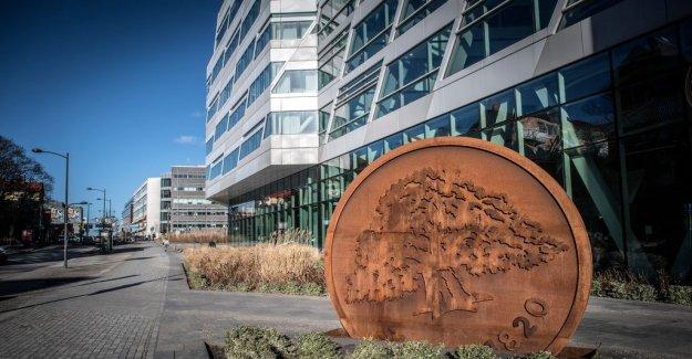 Dan Lucas: the First trial for the new Swedbankschefen
