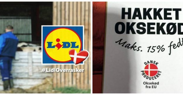 Danish farmers is raging: Kødfup in Lidl is a disgrace