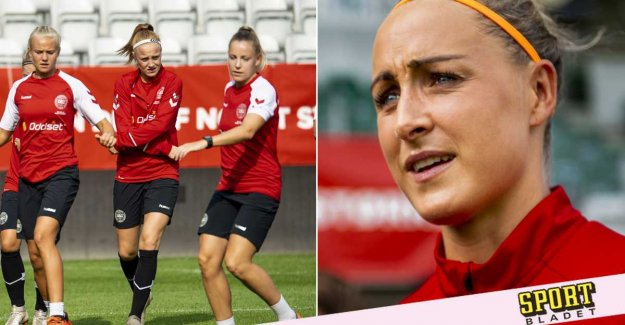 Danish national team cannot afford to gather
