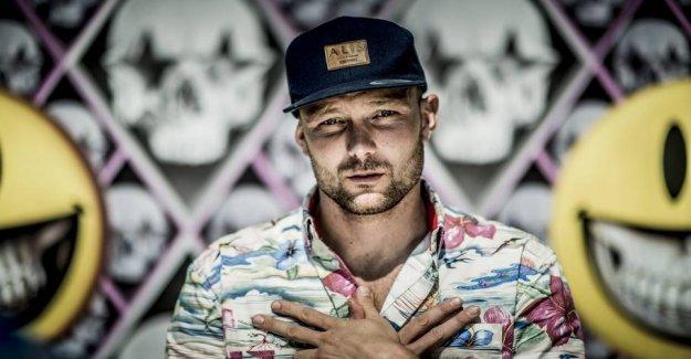 Danish star charged after violent crash