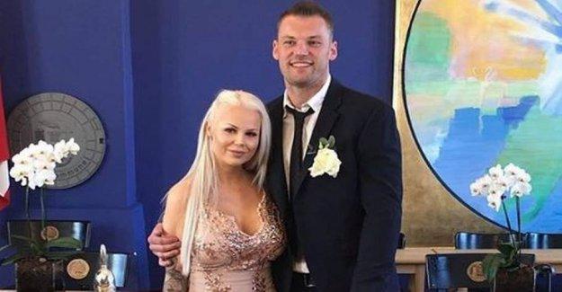 Danish tv couple has been married