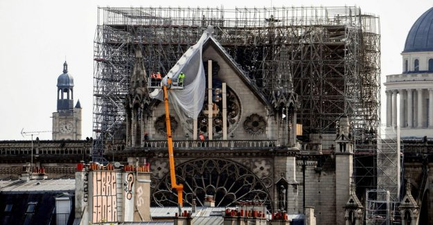 Data: a short circuit is believed to be behind the Notre-Dame-the fire