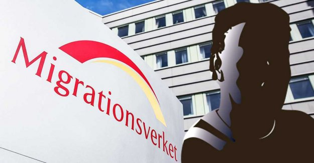 Dawn raid against a former employee of the Swedish migration board