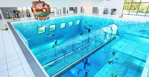 Deepest pool in the world opens soon in Poland: scuba diving up to 45 meters deep