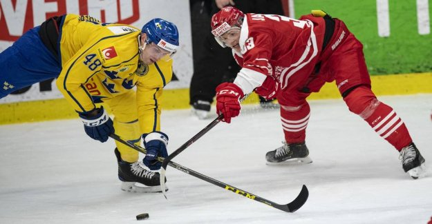 Denmark loses yet an alternate on the ice to Sweden