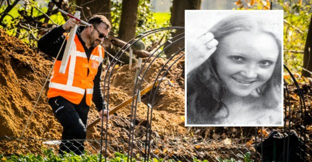 Detective after the first day to search for 44-year-missing Dutch girl: 'We are not on'