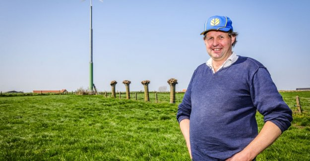 Did you know that cow dung is very useful, is it?: Johan was in 2016, first in West-Flanders, with a private windmill