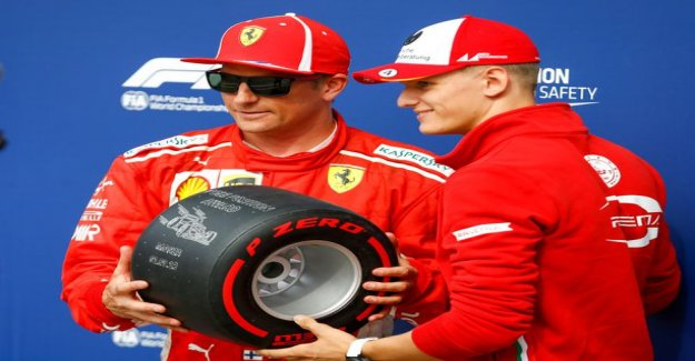 Do you have Kimi Raikkonen hand over his car to Mick schumacher's use? It would be the absolute highlight of the German fans