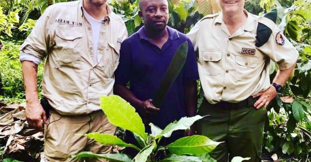 Dominique Persoone is chocolate factory building in the Congo: Forty people work