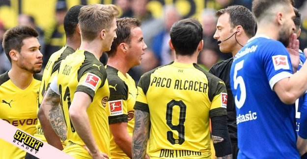 Dortmund may have lost the title after kaosmatchen