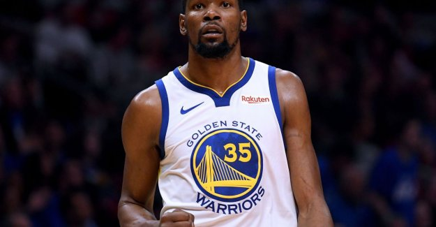 Durant guides Golden State back the lead in the play-offs