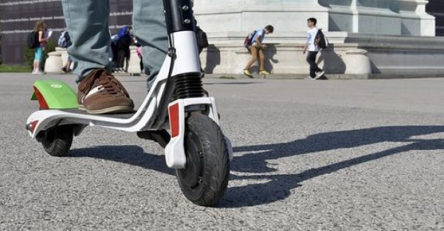 E-scooters on sidewalks: countries have concerns