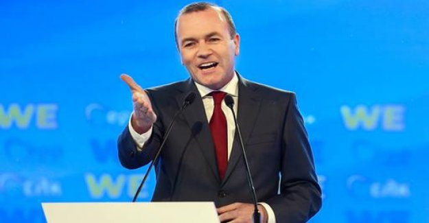 EPP candidate Weber: Turkey will never become member of the EU