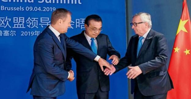 EU-China summit : signs of an opening up of the market of the people's Republic of