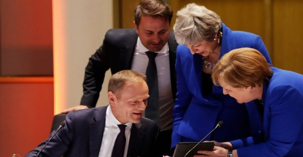 EU leaders agree – give the Uk time to October 31,