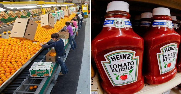 EU punitive tariffs: Ketchup and oranges from the united states can be more expensive in the future