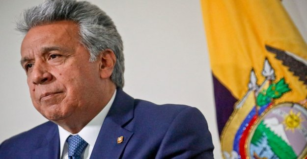 Ecuador's president: Therefore, we leave out Assange