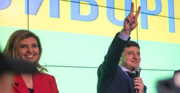 Election in Ukraine: Selenskij well before Poroshenko