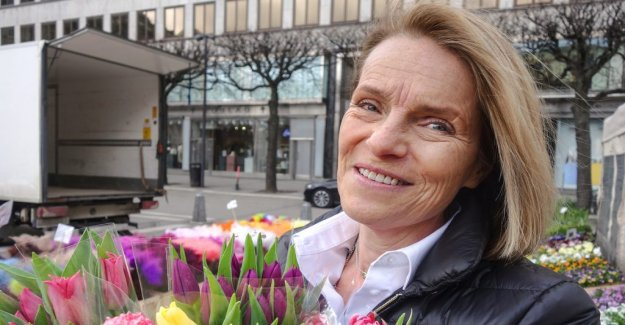 Elisabeth Rosenquist Saidac in Stockholm making it greener