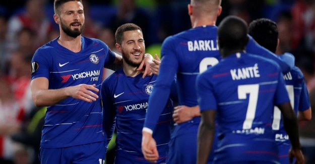 English teams also drove in Europa League: Hazard and co after doelpuntenfestijn past Slavia, Arsenal switches to Napoli and Mertens from