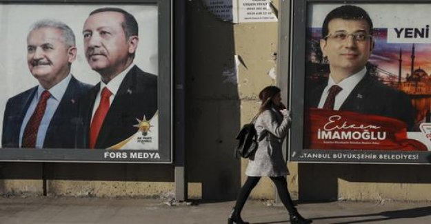 Erdogan's AKP is challenging the election results in Istanbul and Ankara