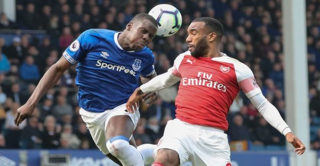 Everton stopped Arsenal from the important points
